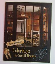 Catalog For Lowe Brothers Color Keys To Sunlit Homes Rooms, Exterior & More