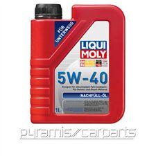 NEU 1x LIQUI MOLY 1305 Nachfüll Öl 5W-40 für unterwegs 1 Liter (€18,95/L)