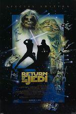 Die Rückkehr der Jedi Ritter: Special Edition (1999)   US Filmplakat, Poster