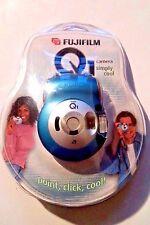 FujiFilm Nexia Q1 24mm A200 Film Camera Royal Blue