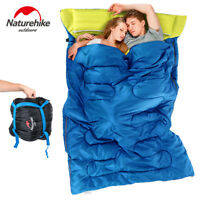 Naturehike Double Envelope Sleeping Bag Adult Outdoor cotton Camp Hiking Travel