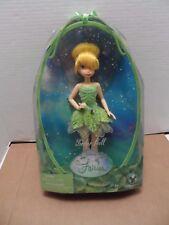 "2007_Disney Fairies Tinkerbell 12"" Doll_NRFB"