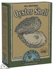 Down To Earth Oyster Shell 6 lb - Dry Fertilizer Soil Amendment All Natural SALE