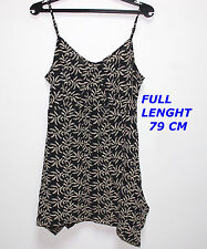 THE MASAI CLOTHING CO  WOMAN LADIES TOP SHIRT SIZE L SLEEVELESS LENGHT 79CM