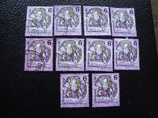 AUTRICHE - timbre yvert et tellier n° 1937 x10 obl (A01) stamp austria (T)