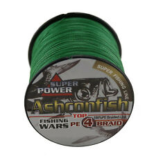 500M Moss Green 100LB Super Power Strong 100%  PE Braided Fishing Line Sea Line