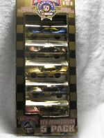 50TH ANNIVERSARY SET 8 OF 8 NASCAR GIFT PACK 1/64 DIECAST RACING CHAMPIONS