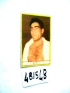 FIGURINE STELLA DELLO SPORT PUGILATO MANCA (4BIS4B)