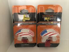 Lot Of 2 Shock Doctor Sport Max Airflow Mouth Guard - American Flag - Ages 6 +
