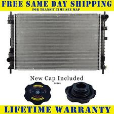 Radiator With Cap For Saturn Fits Vue 2.2 3.0 L4 4Cyl V6 6Cyl 2462WC