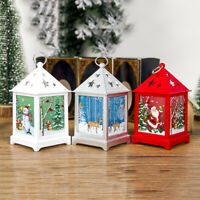 Christmas Hollow Candlestick Hanging Light Pendant Table Lamp Star Decoration 34