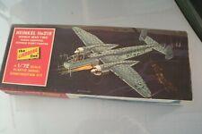 LINDBERG HEINKEL He219 GERMAN NIGHT FIGHTER 1/72 SCALE MODEL KIT