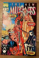 NEW MUTANTS 98 #98 ~ 1ST Appearance of DEADPOOL > Check out these pics!