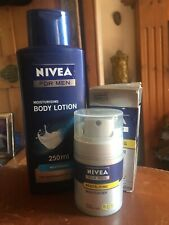 Nivea Men Q10 Revitalising Cream 50ml & Body Lotion