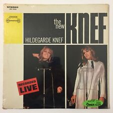 The New Hildegarde Knef LP Vinyl Album Record Recorded Live German 1966 SW 99426