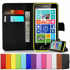 Synthetic Leather Plain Mobile Phone Cases, Covers & Skins for Nokia with Card Pocket