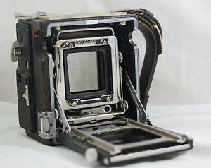 GRAFLEX 2 X 3 SPEED GRAPHIC LARGE FORMAT CAMERA BODY (FOR PARTS)