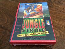 SEGA Genesis Game Jungle Strike - Brand New Sealed - NIB Complete - Rare CIB HTF