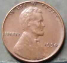 1954 LINCOLN WHEAT CENT, FREE AND PROMPT SHIPPING