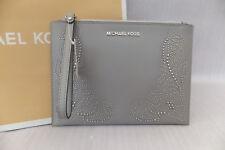 Michael Kors Ladies Large Nouvea Floral Leather Clutch Evening Wristlet Bag BNWT