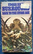 Back to the Stone Age, Edgar Rice Burroughs, Ace Science Fiction, 78, Frazetta
