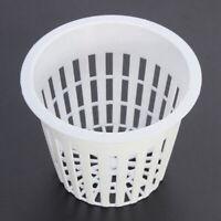 10Pcs Plastic Planter Net Basket Flower Pot Hydroponic Aquatic Water Plants Grow