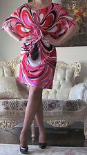 EMILIO PUCCI Runway Multicoloured,Signed Dress/Caftan IT 46,US 10-12/L-XL,UK 14