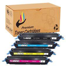 4PK Toner Cartridge Q6000A 124A Set For HP LaserJet 1600 2600 2600n 2605 2605dnt