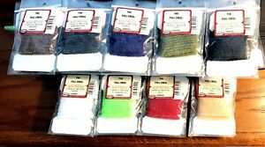 Wapsi Wooly Bugger Chenille Medium Tying Material Choice of Color (One Package)
