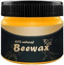Wood Seasoning Beewax, Natural Traditional Beeswax Polish Wood Furniture Cleane