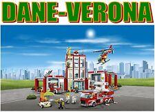 Lego - CASERMA DEI POMPIERI - Fire Station (60110) City/Pompieri