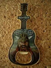 HRC Hard Rock Cafe Oslo Bottle Opener Pin 2015 Viking Warrior