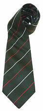 LIGHT INFANTRY  WOVEN STRIPE UK MADE MILITARY TIE PRE 95