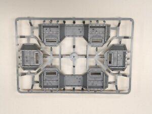 x4 Aegis Defense Line Walls Warhammer 40k Scenery Terrain New on Sprue