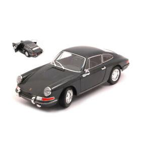 Porsche 911 Dark Gray 1964,Scale 1:24 by Welly