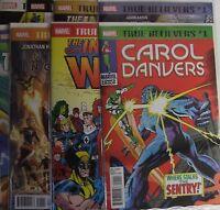 Marvel Comics True Believers Thanos Set of 8 books.