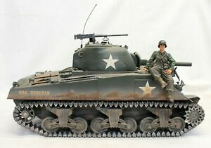 Forces of Valor WWII M4A3 SHERMAN TANK Diecast Model Unimax 1:16 Scale