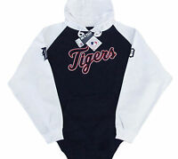 Detroit Tigers MLB Cunning Play Pullover Hoodie Blue & White Big & Tall Sizes