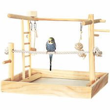 "You & Me 3-in-1 Playground for Birds, 15"" L X 15"" W X 16"" H"