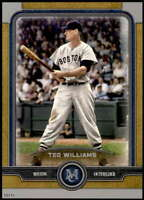 Ted Williams 2019 Topps Museum 5x7 Gold #15 /10 Red Sox