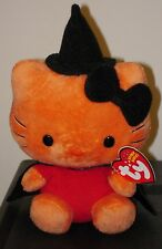 Ty Beanie Baby ~ HELLO KITTY the Halloween Witch ~ MINT with MINT TAGS ~ RETIRED