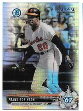 Frank Robinson 2017 Bowman Chrome National Sports Collector Prizm Refractor NSCC