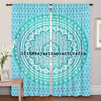 Wall Hanging Indian Boho Mandala Bohemian Decorative Curtains Drapery Curtain