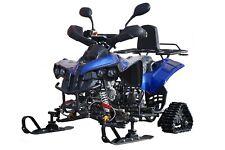 Quad ATV Tracks Ski Snowmobile 125cc H8 FOURSTROKE 4T