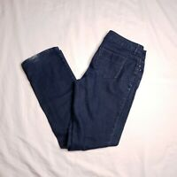 Simply Vera Wang Size 8 Dark Wash Straight Leg Stretch Jeans Womens