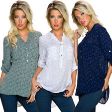 Fashion Bug 3/4 Sleeve Floral Tops & Blouses for Women