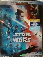 Star Wars: The Rise of Skywalker 2020 Blu-Ray + Digital Code with Slip Cover NEW