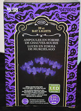Holiday Living 20 CT Bat Lights Halloween Deco Battery Operated