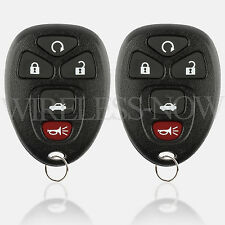 2 Car Key Fob Keyless Remote For 2006 2007 2008 2009 2010 2011 Cadillac DTS