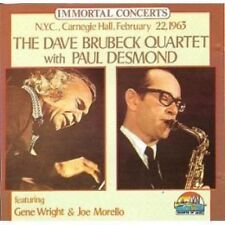 Dave Brubeck Quartet Immortal concerts-N.Y.C., Carnegie Hall, Feb. 22nd, .. [CD]